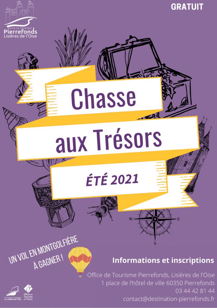 Lire la suite de l'actualité Chasse aux trésors pour aller à la découverte des richesses des Lisières de l'Oise.