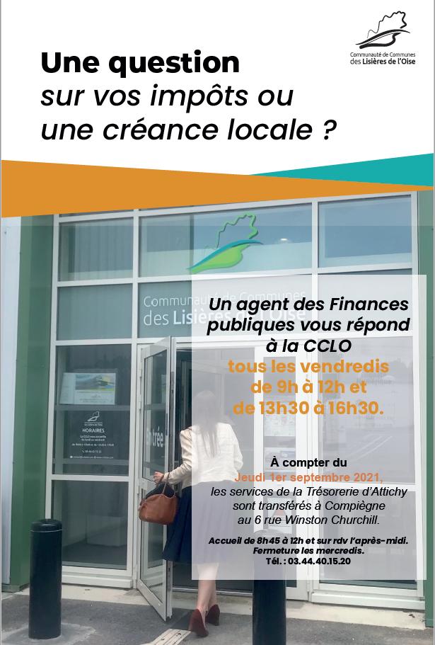 Lire la suite de l'actualité Une question sur vos impôts ou une créance locale ?